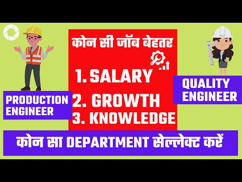 Quality Engineer Vs Production Engineer Salary And Growth