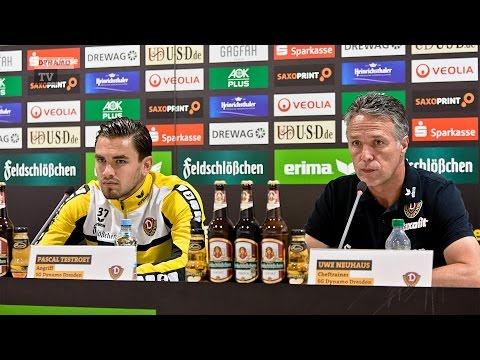 4. Spieltag | FSV - SGD | Pressekonferenz vor dem Spiel