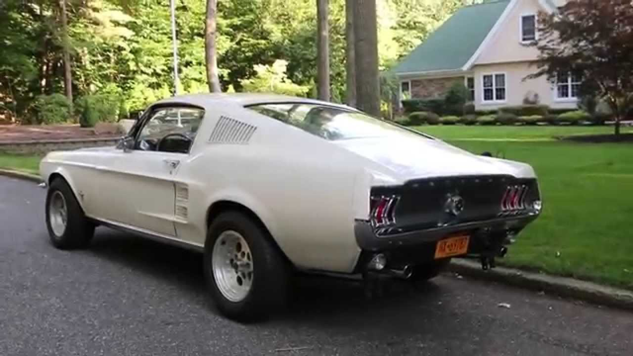 Sold1967 ford mustang fastback for sale289wimbledon white2 ownersfantastic youtube