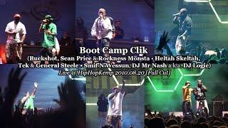 Boot Camp Clik (Buckshot, Sean Price ... Smif'N'Wessun) • Live @ Hip Hop Kemp 2010.08.20 [Full Cut]