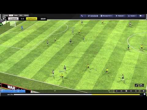 Football Manager 2014 Let's Play - Borussia Dortmund #19 | Juventus | 3D Gameplay