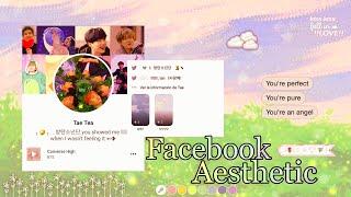 𝁩🎨໋࣪ Como tener un Facebook Aesthetic Simple ₊˚.༄ screenshot 4