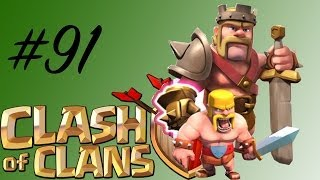BARB KING IRON FIST! Clash of Clans #91 || || Let's Play Clash of Clans [Deutsch/German HD]