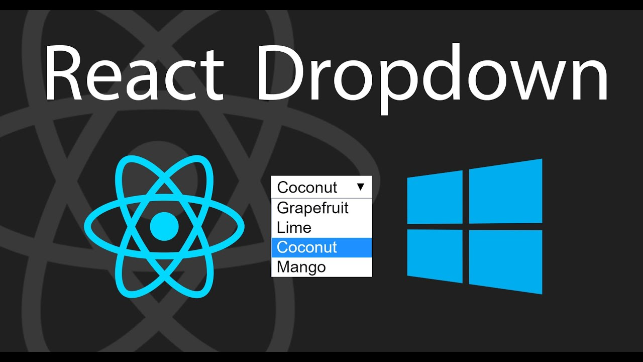 How to Create a Simple React Dropdown | Part 1