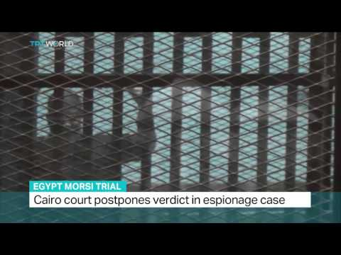 Cairo court postpones verdict in espionage case