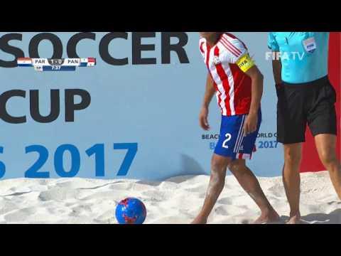 Match 22: Paraguay v Panama - FIFA Beach Soccer World Cup 2017