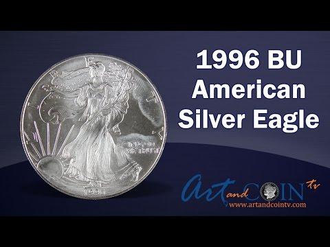 1996 BU American Silver Eagle