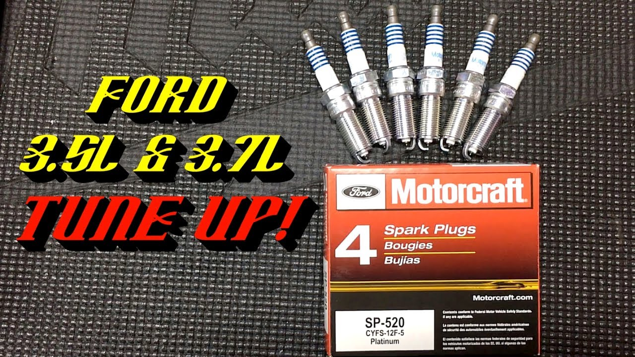 2011-2017 ford 3 5l & 3 7l duratec v6 engines: spark plug replacement
