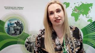 Стенд Борисовский завод медпрепаратов на выставке Здравоохранение Беларуси 2019