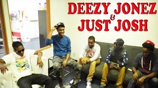Hip Hop Artists Deezy Jonez & Just Josh Stop by ADD