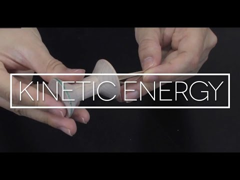 Science Lesson Portfolio Item -  Potential and Kinetic Energy
