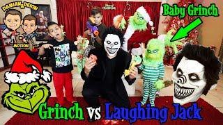 GRINCH vs LAUGHING JACK BATTLE | D&D SQUAD BATTLES