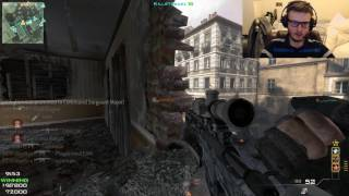 MW3 PC 2017 #34: LIVE Teknogods MSR 150 SECOND SNIPER MOAB!