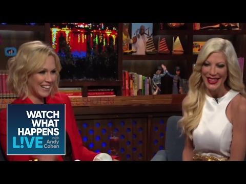 Tori Spelling & Jennie Garth Spill 90210 Secrets - WWHL
