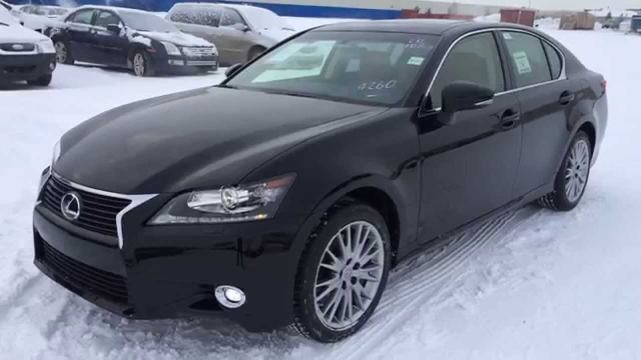 New Black On Flaxen 2015 Lexus GS 350 AWD Luxury Package