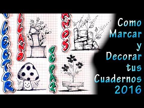 Tipos de letras para marcar tus cuadernos geometria - Como decorar cuadernos ...