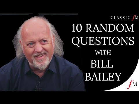 Bill Bailey Answers 10 Random Questions Through Music | Classic FM