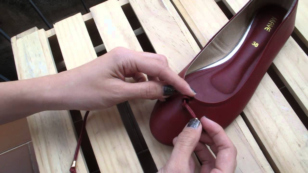 Famous ็How to tie a bow on flat shoes - YouTube QB76