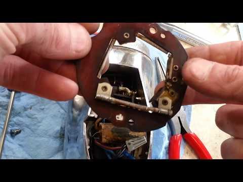Vintage Hamilton Beach Model H chrome service and repair