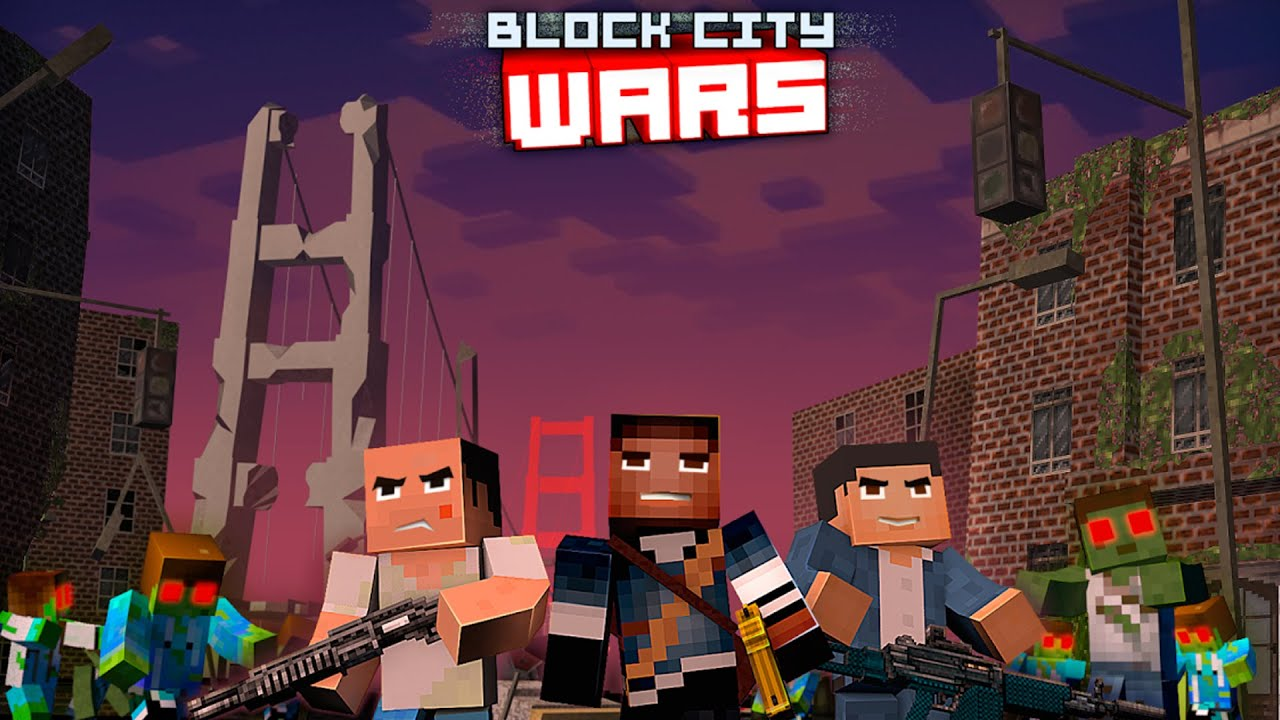 Amazon.com: Block City Wars - Game & skins export to minecraft