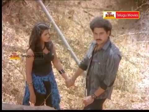 Kondaveeti Rowdy - Telugu Movie Scene - Suman, Vani Viswanath