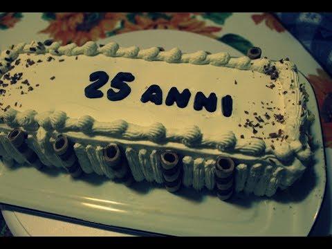 Torta 25 anniversario di matrimonio youtube for Anniversario matrimonio 25