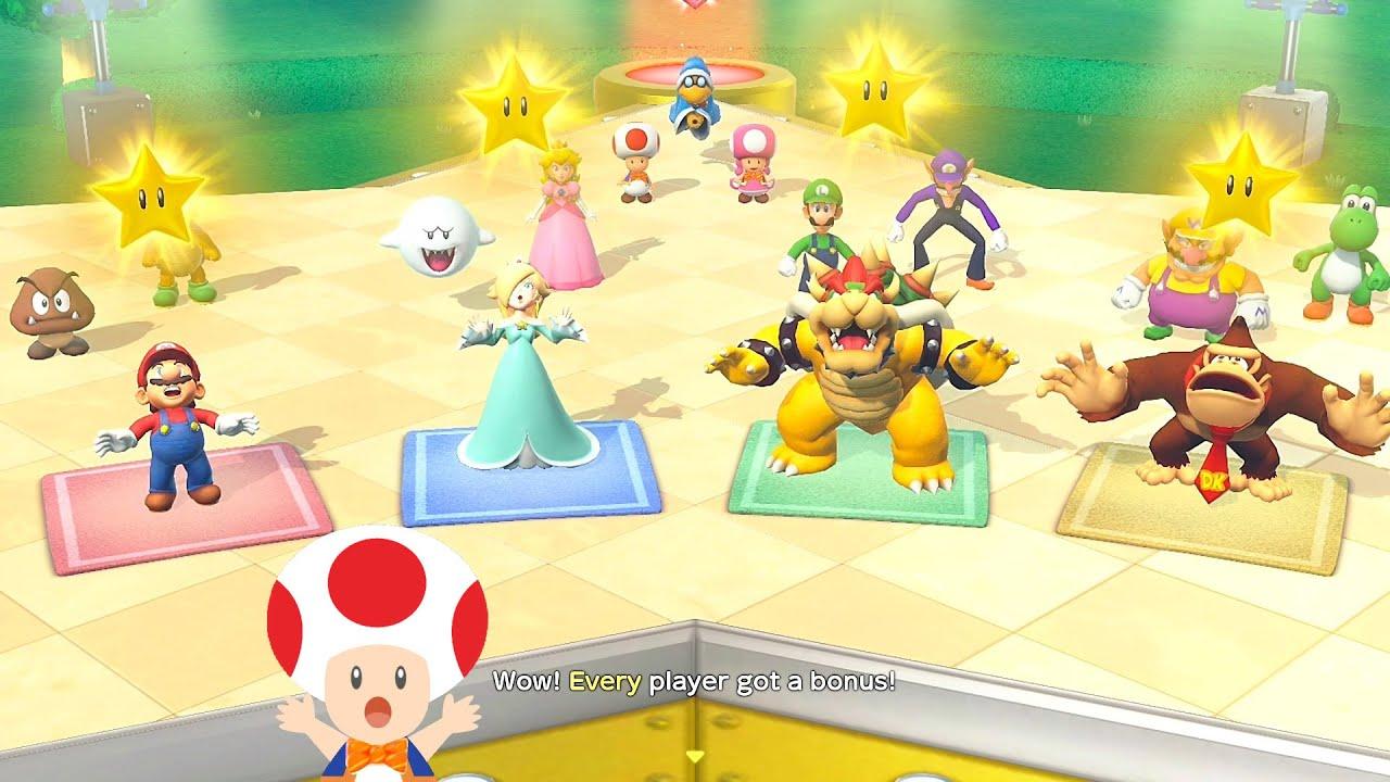 Super Mario Party Every Player Got a Bonus #43