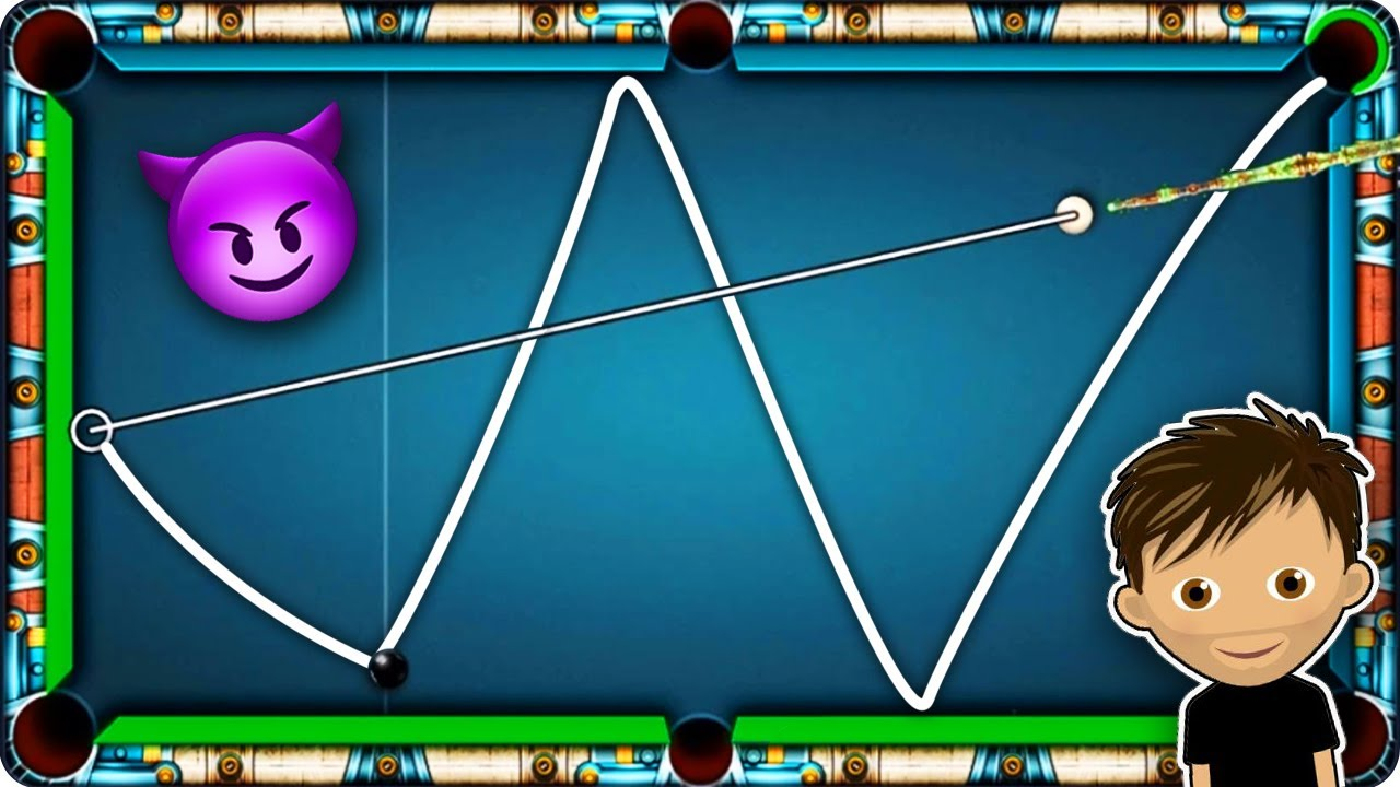 VIRUS XD Style TRICKSHOTS - 8 Ball Pool