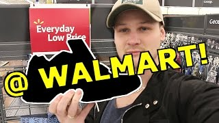 FINDING THE NEW YEEZY RUNNING SHOES HIDING AT WALMART!!