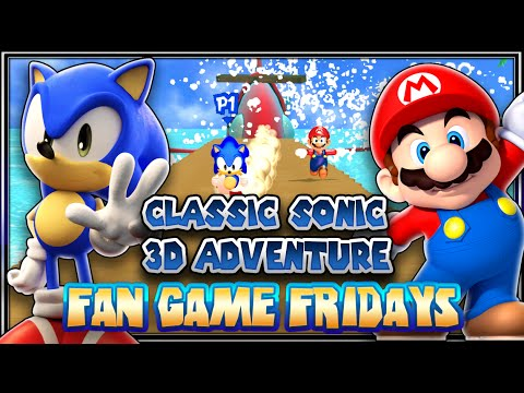 classic sonic 3d adventure free download