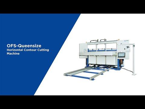 OFS-HE3 horizontal contour cutting machine 3400mm working width