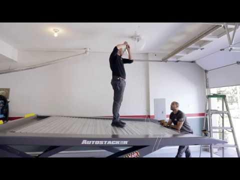 Raising Garage Door Tracks Amp Installing Liftmaster 8500