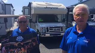 Awesome August at Flagg RV in Uxbridge, MA. Here John speaks with Roy and Bill Manson of Flagg's RV. They are having a fabulous month, open 7 days a ...