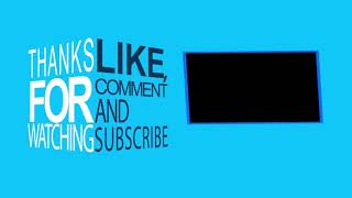 My New Outro