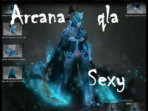 Phantom assassin sexy arcana - YouTube