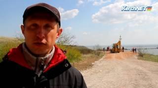 Керчь: мостостроители вышли на субботник
