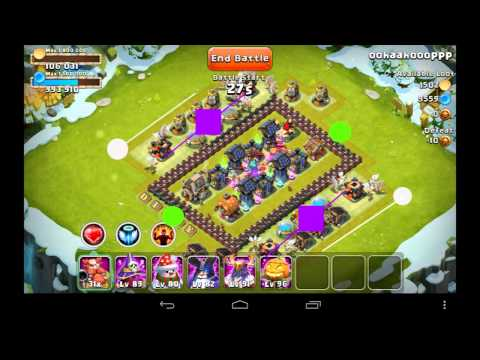 Castle Clash Strategy 25: Raiding (Here Be Monsters) Bases Is EASY - Distaggio