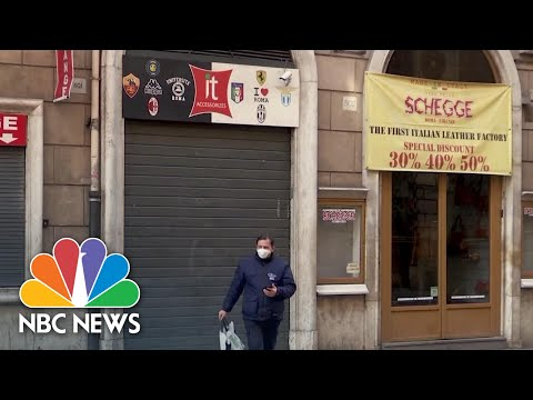 Travel Blogger Describes Life In Rome Under COVID-19 Lockdown | NBC News NOW