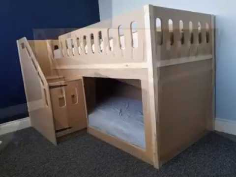 "Planitwood ""Childrens Themed Beds"" ""Imagine Greater"" Short 5"
