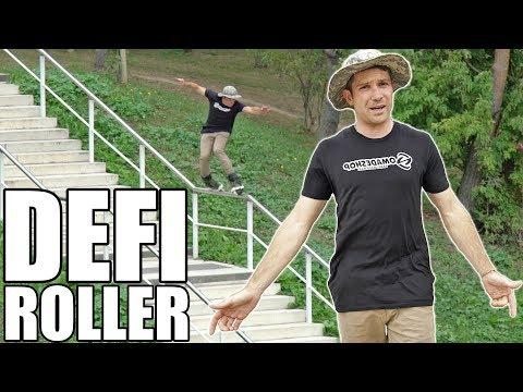 Défi Roller : Slider une rambarde de 32 MARCHES en TOP SOUL ! (feat. Warren Digne)