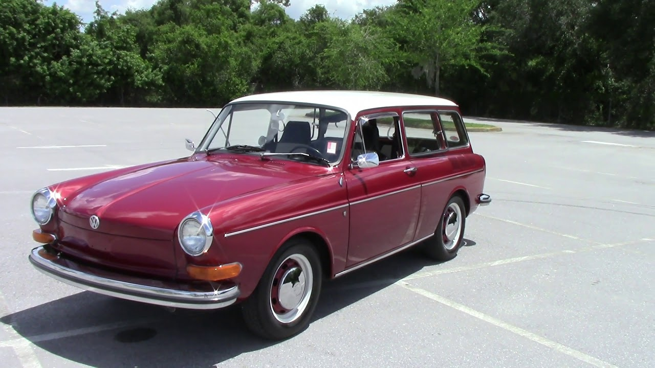 SOLD 1970 VW Type 3 Squareback