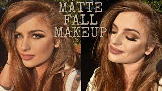 MATTE FALL SMOKEY EYE | Morphe Brushes Eye Look