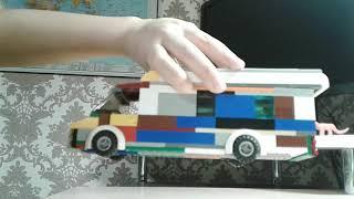 Лего дом на колесах из лего.
