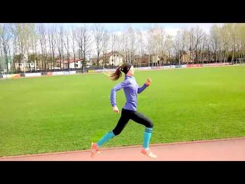 Ostatni 400m odcinek na treningu Kamili