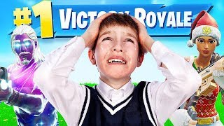 I made a kid cry in Fortnite... (Random Duos)