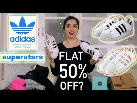 Adidas Superstar Originals At Flat 50%??? Koovs Haul Part 2 | #HeliHauls