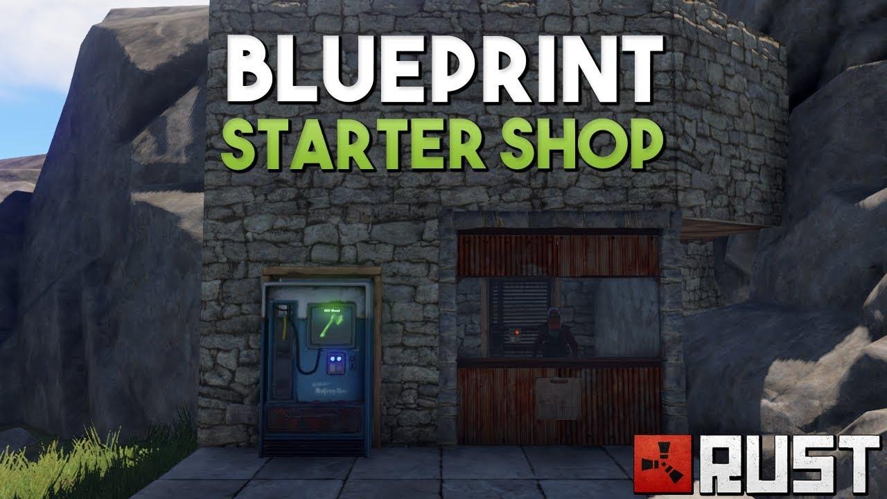 Blueprint starter shop rust solo survival youtube blueprint starter shop rust solo survival malvernweather Gallery