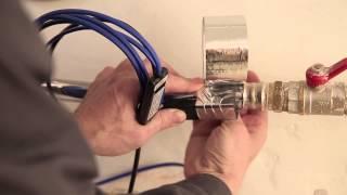 видео обогрев трубопроводов