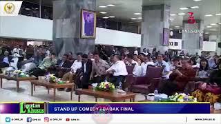 Aji Juara 1 sindir SETNOV,FAHRI DAN FADLIZON |Standup Comedy