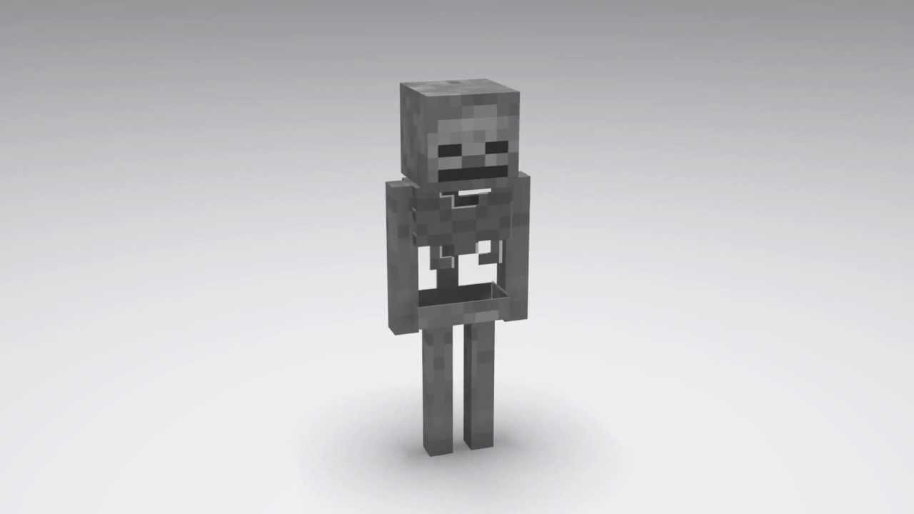 Minecraft Esqueleto Descargar YouTube